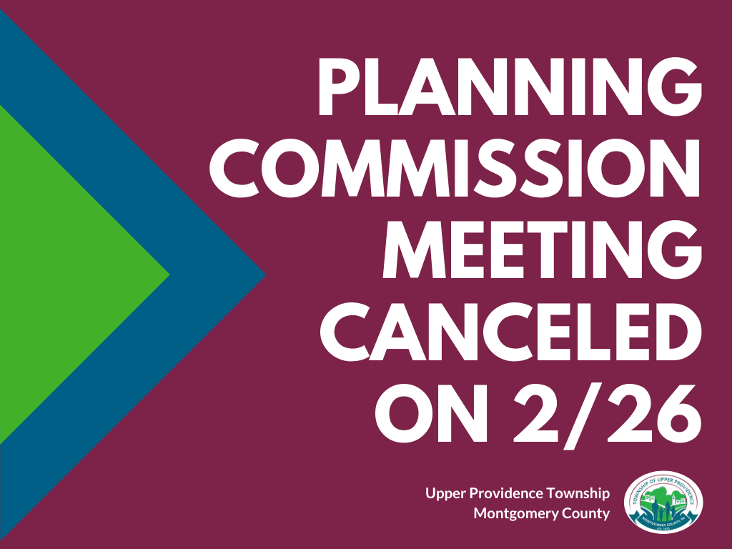 Planning Commission Canceled - Newsflash