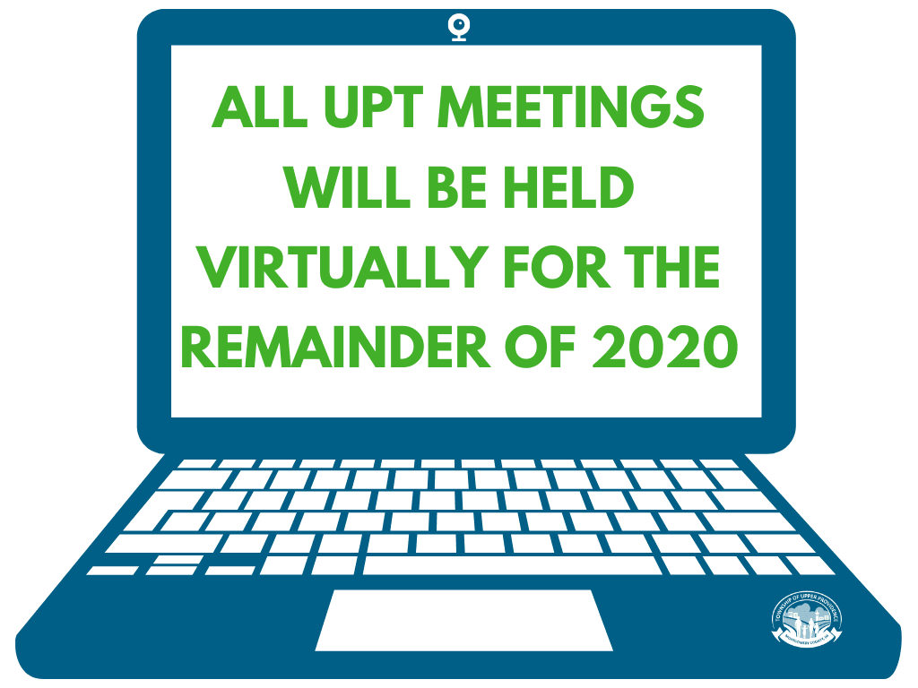 All Meetings Will Be Held Virtually For the Remainder Of 2020 (1)
