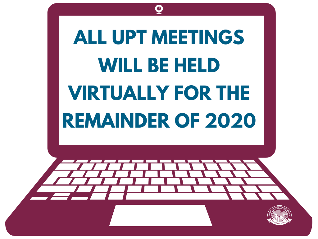 All Meetings Will Be Held Virtually For the Remainder Of 2020