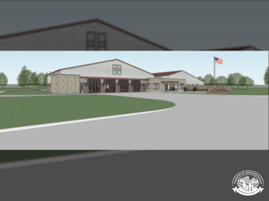 New Fire and Emergency Services Building Rendering