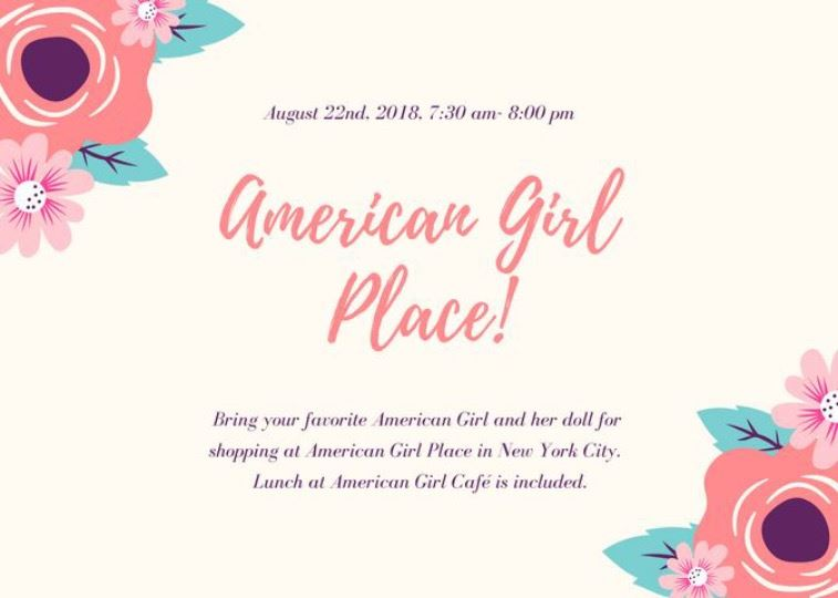 American Girl Place!