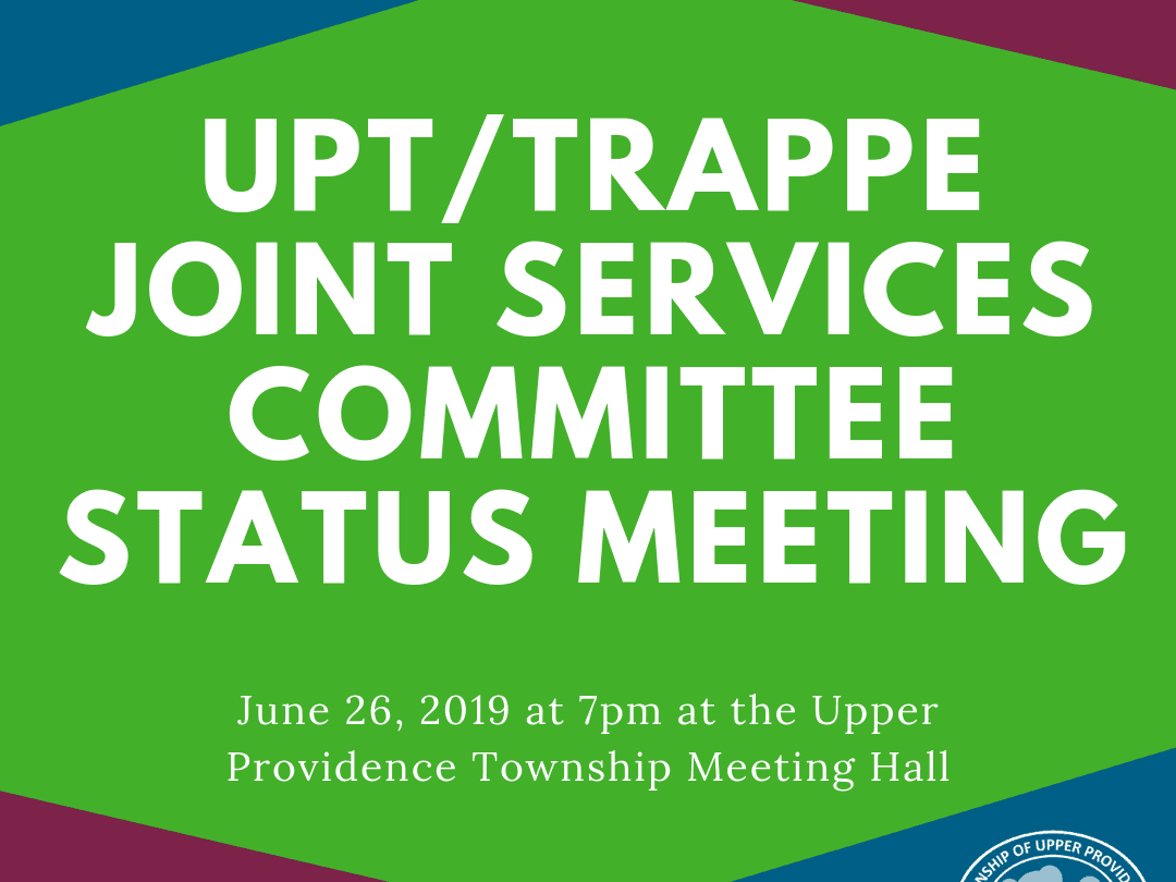 Upt Trappe joint services meeting