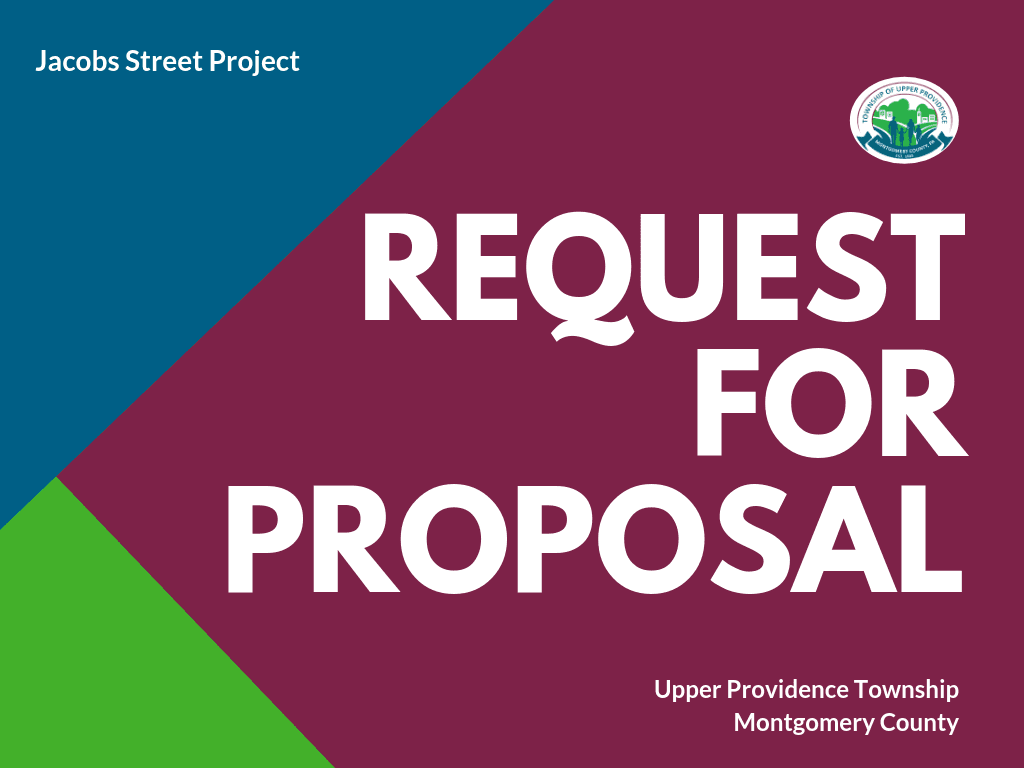 Request for Proposal Jacobs Street