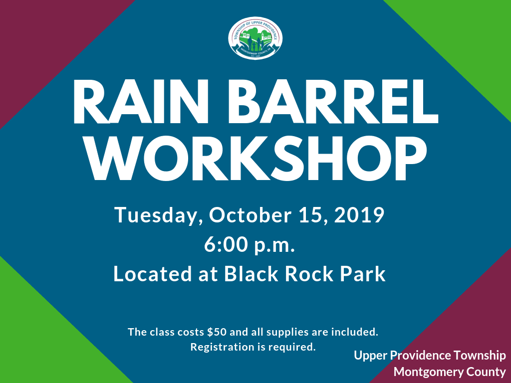 Rain Barrel Workshop